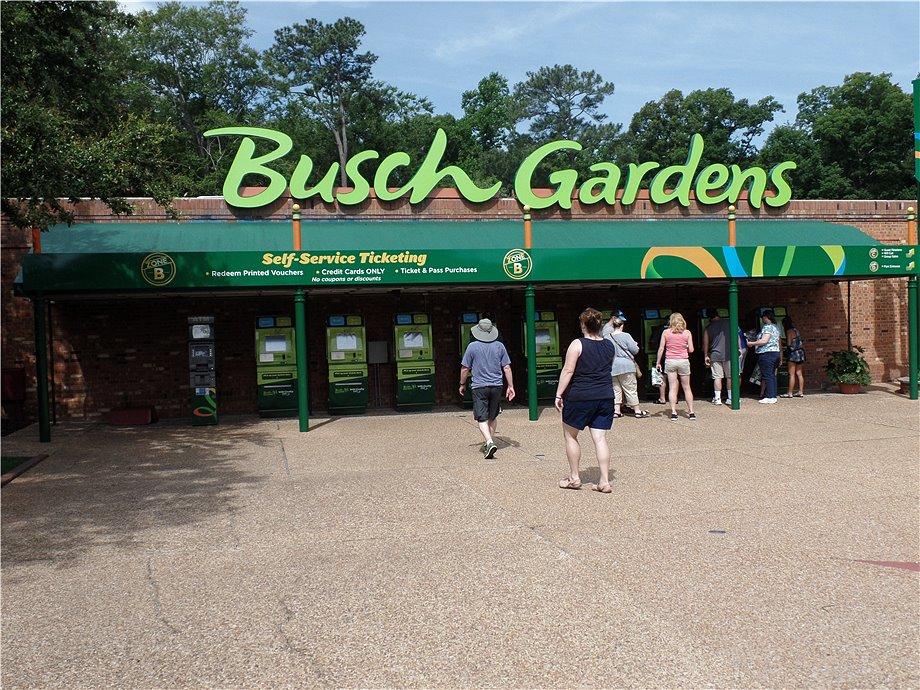 USA Trip 2015 Dag 13: Busch Gardens Williamsburg