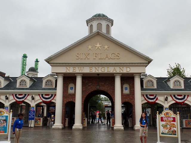 USA Trip 2015 Dag 4: Six Flags New England